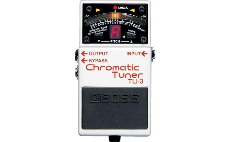 boss TU-3 chromatic guitar tuner