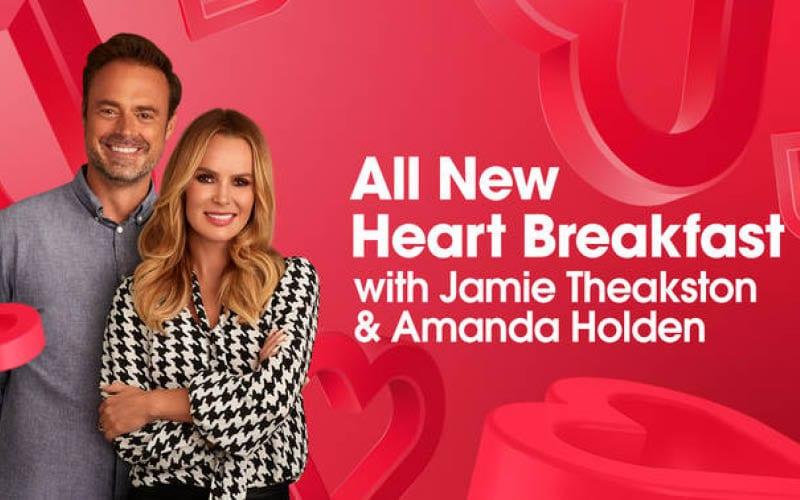 Heart Radio Breakfast Show with Amanda Holden and Jamie Theakston