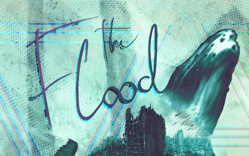 Major Moment 'The Flood' Artwork