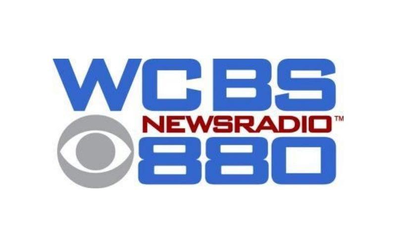 WCBS 880 news radio old logo