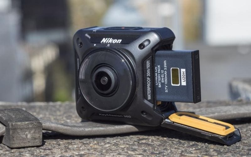 nikon Keymission 360 best camera for music videos