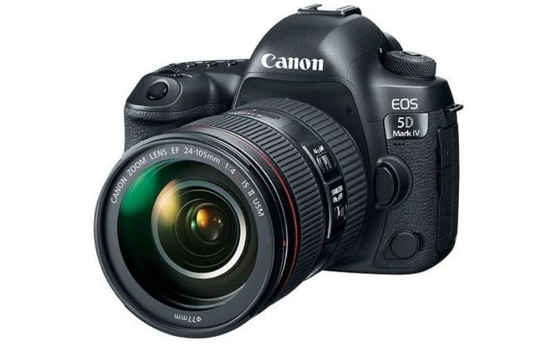 Canon EOS 5D Mark IV Full Frame best camera for music videos