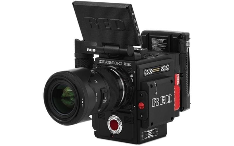 red series best camera for music videos