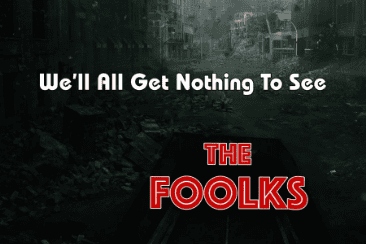 The Foolks 'We'll All Get Nothing To See': – Out September 7th