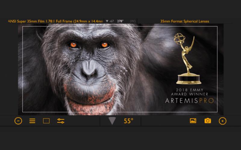 artemis pro filmmaking app