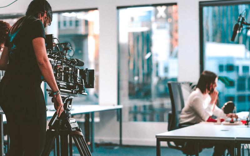 filming a short film