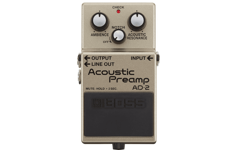 boss ad-2 acoustic pre