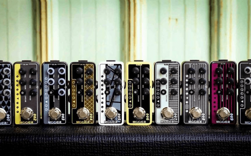 mooer micro preamp pedals