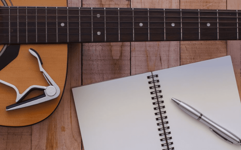 songwriting with guitar