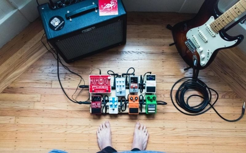effects pedals setup