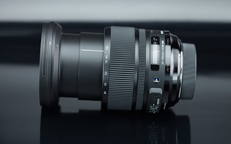 sigma lens for filming