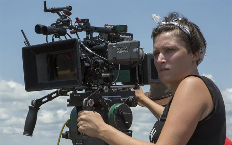 cinematographer with camera