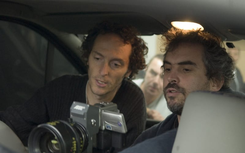 Dop and director working on a movie
