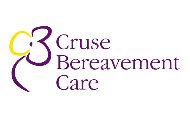 cruse bereavement care charity logo
