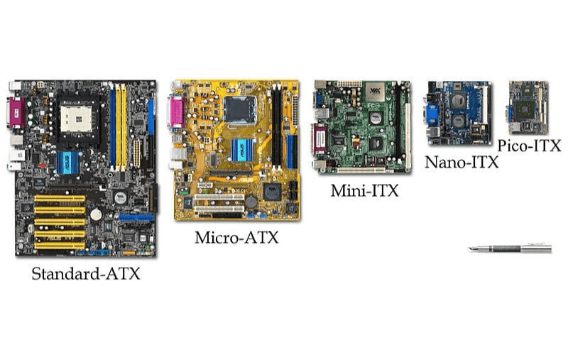 different types of ATX and ITX