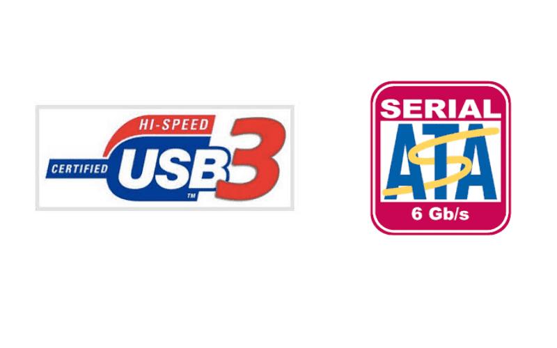 HI SPEED USB 3 AND SERIAL ATA