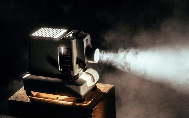 filmmaking projector