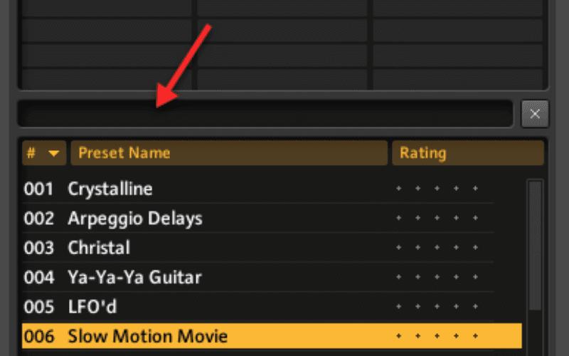 guitar rig preset name