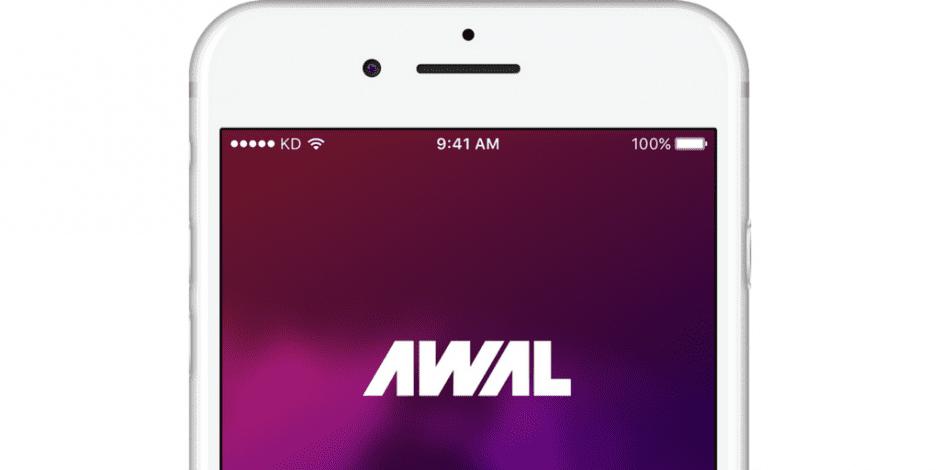 awal app on mobile phone
