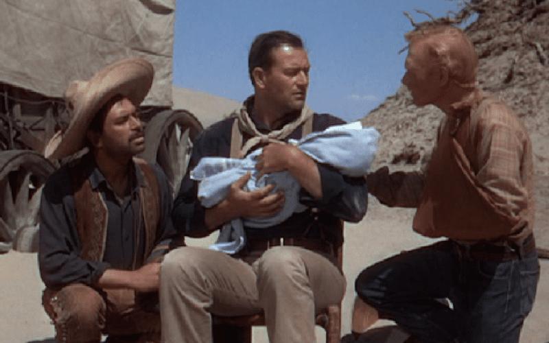 3 godfathers scene
