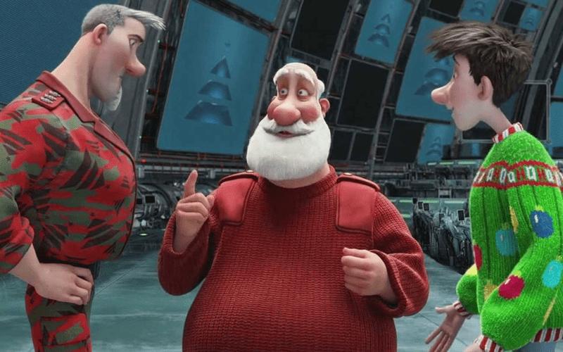 arthur christmas scene