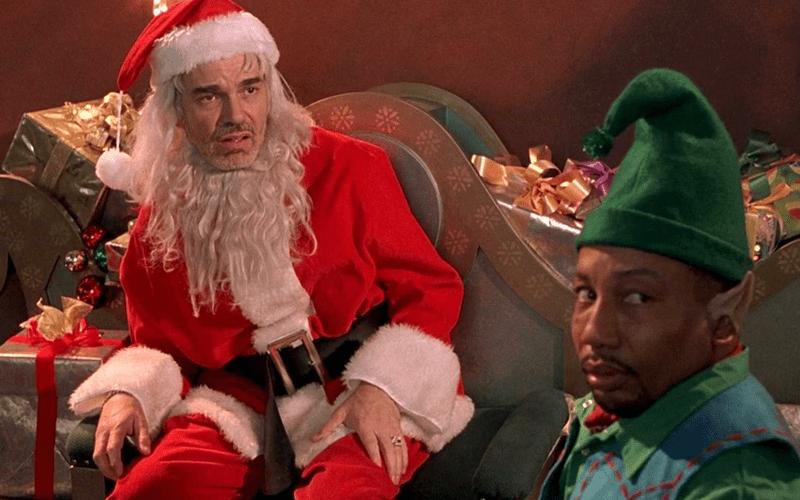 bad santa scene