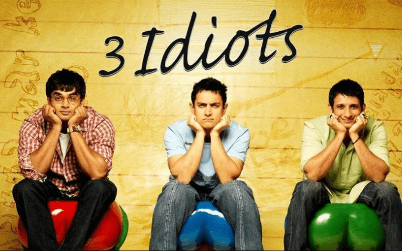 3 idiots from indian film industry