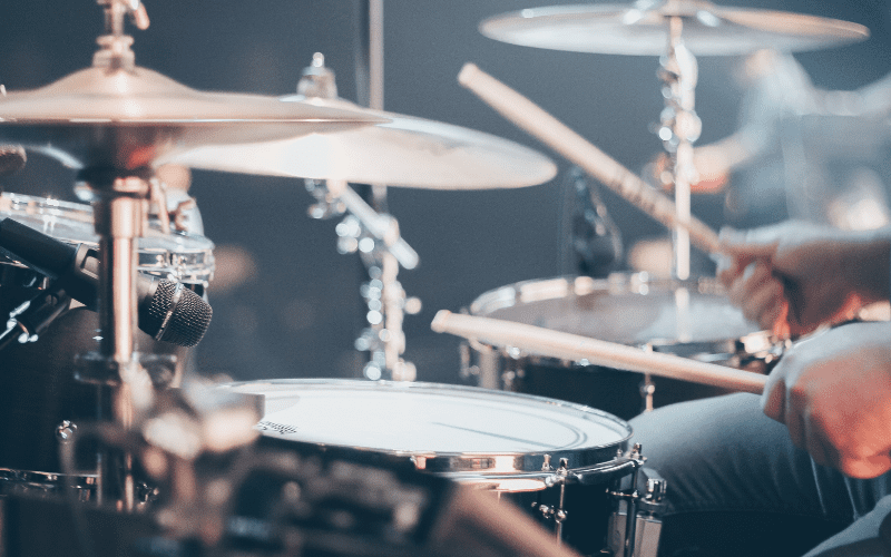 cymbals on how to set up a drum set