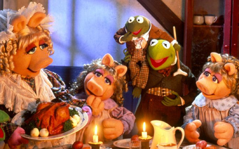 the muppets christmas carol scene