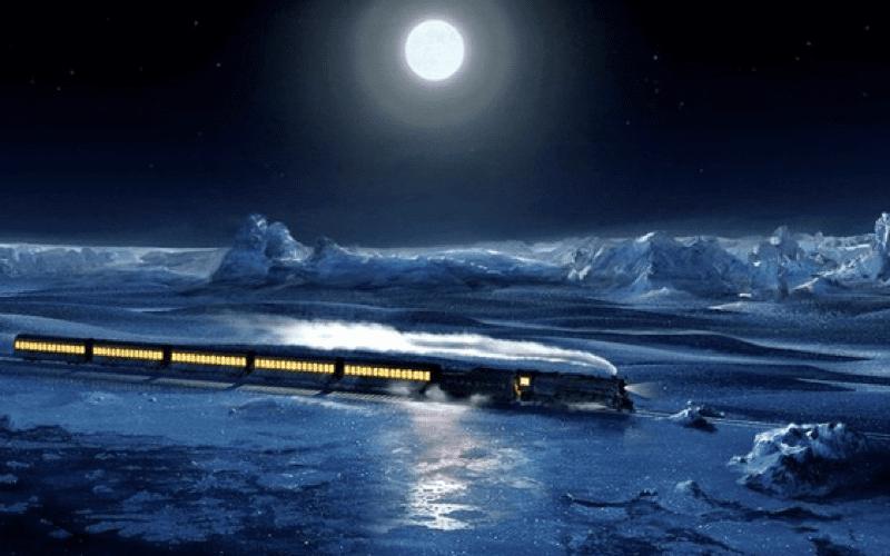 scene from polar express