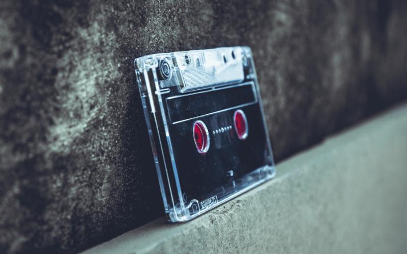 Music licensing fees tape