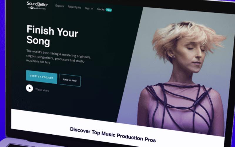 soundbetter website