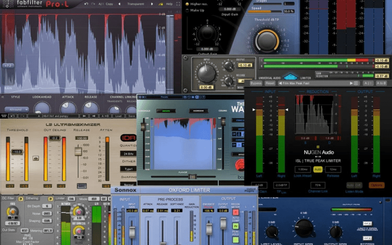 Mixing Music limiter
