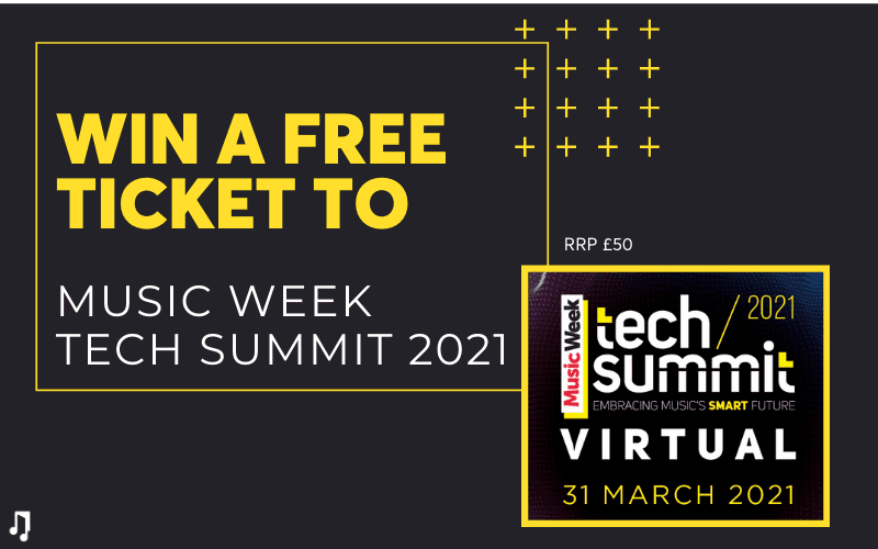 Music Week Tech Summit Ticket Giveaway Win Free with Music Gateway Competition