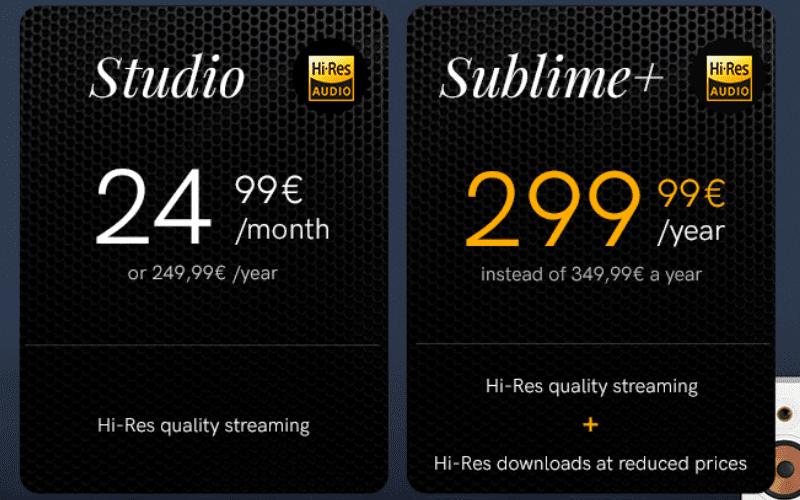 qobuz subscription