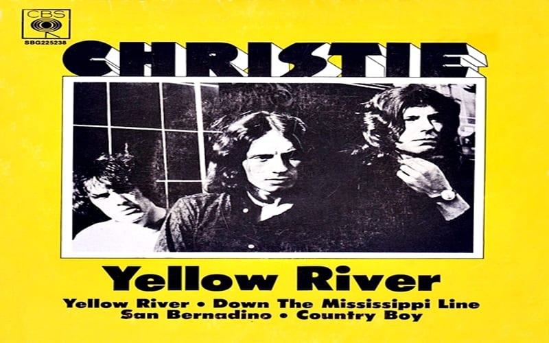 yellow christie famous tv advert