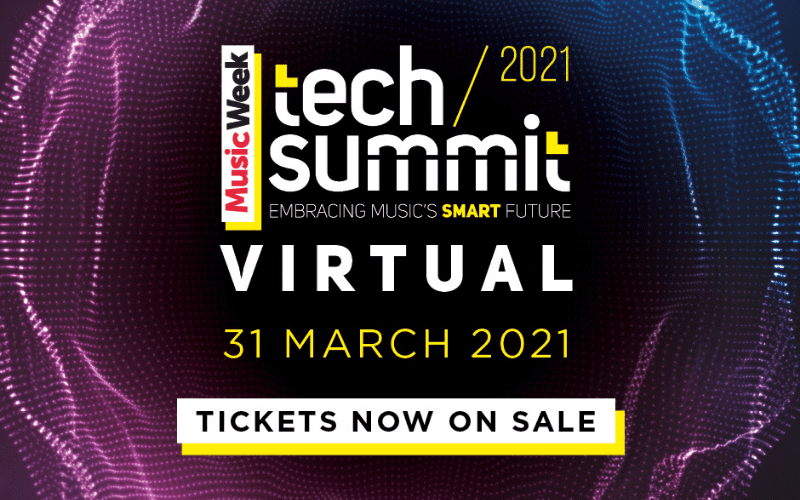 music week tech summit social media banner