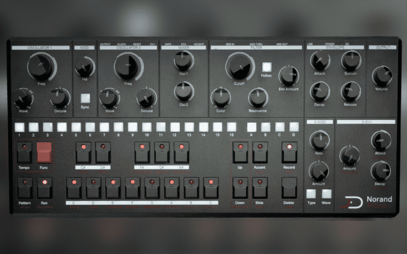 mono and poly synthesizer