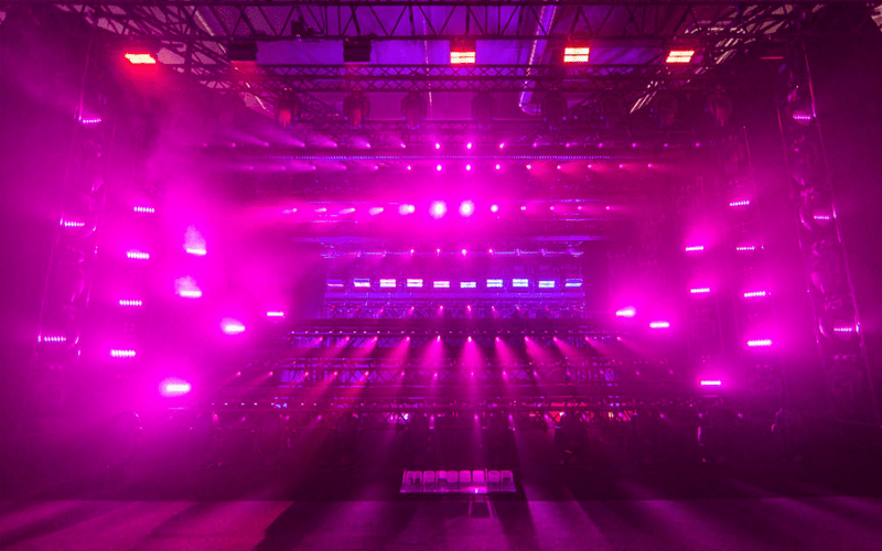 front lighting
