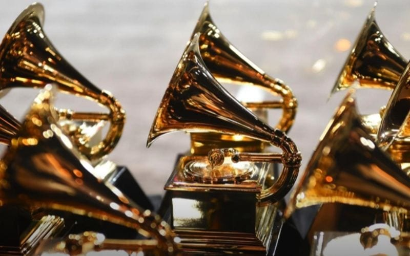 Grammy awards waiting to be handed out to winners in 2021