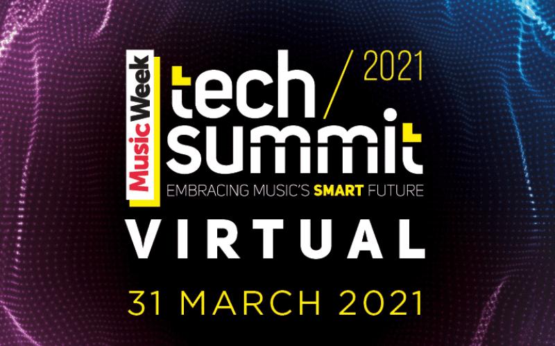 music week tech summit 2021 poster