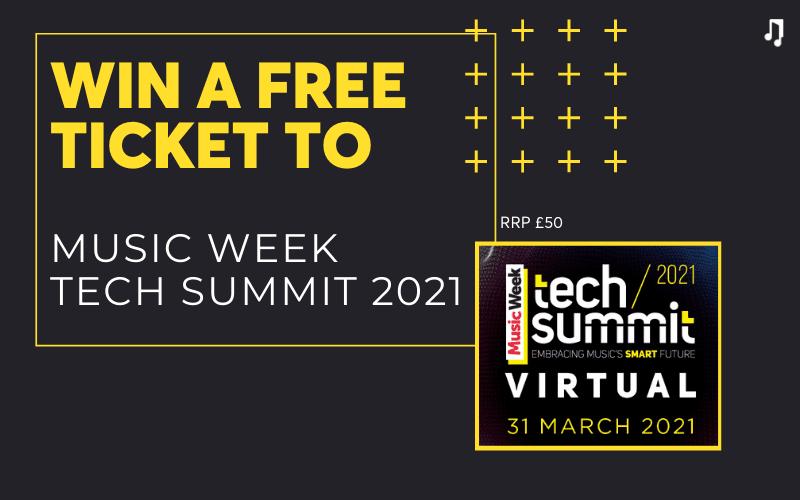 music week tech summit giveaway