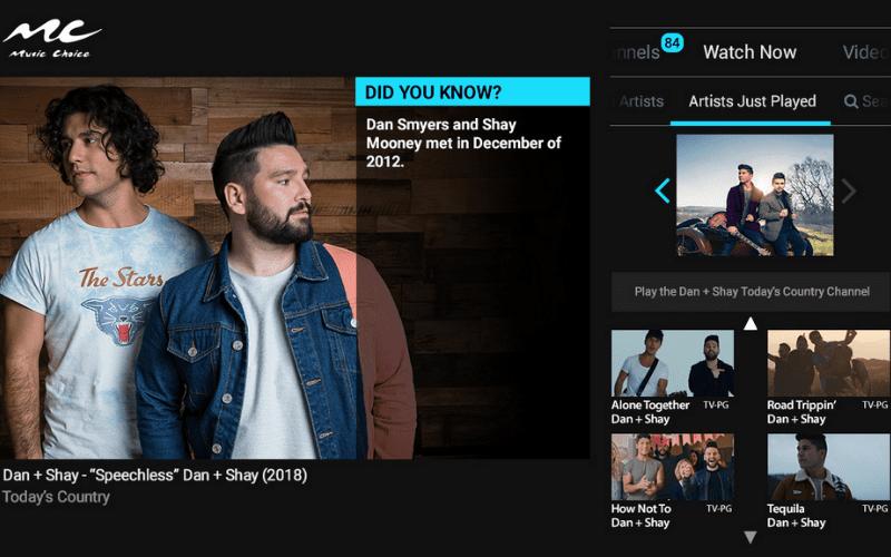 music choice website