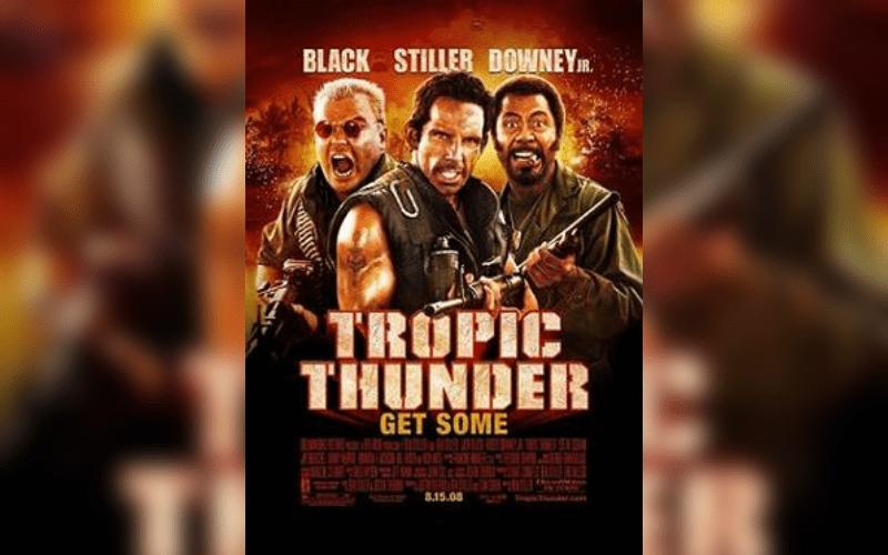 tropic thunder satire