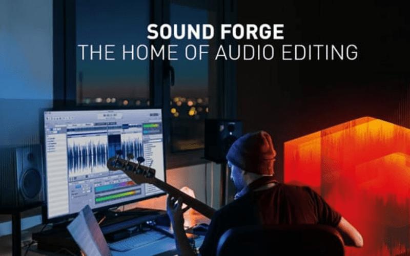 Sound Forge Pro 12 Logo Daw