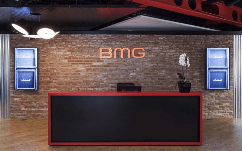 bmg music publishing reception