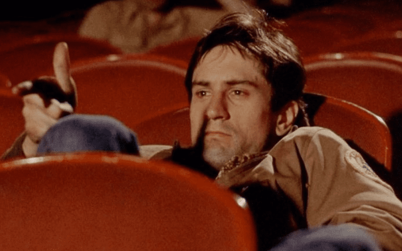 robert de niro as travis taxi driver in cinema
