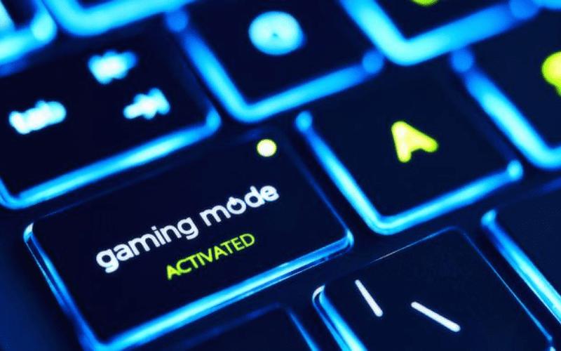 Keyboard gaming keys