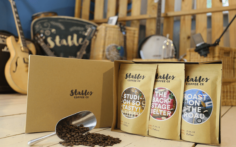 stables coffee band merch