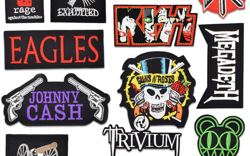 band patches merch ideas